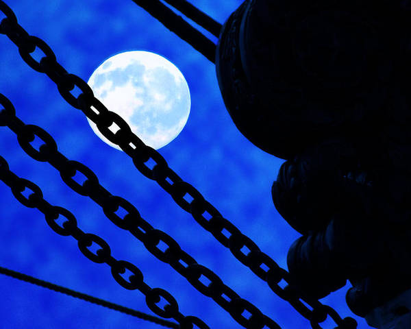 Uss Constellation Poster featuring the photograph To The Moon Alice by Mike Flynn