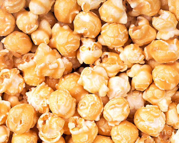 Background Poster featuring the photograph Toffee Popcorn by Jane Rix