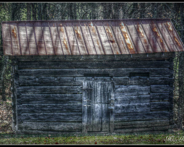 West Virginia Poster featuring the photograph Tool Shed by Missy Richards