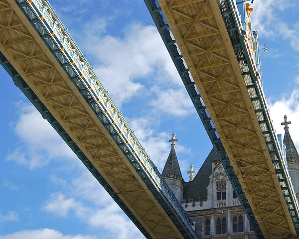 Britain Poster featuring the photograph Tower Bridge by Christi Kraft