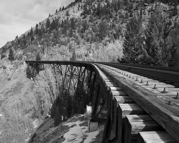 Train Trestle Framed Prints Poster featuring the photograph Train Trestle 1 by Kevin Bone
