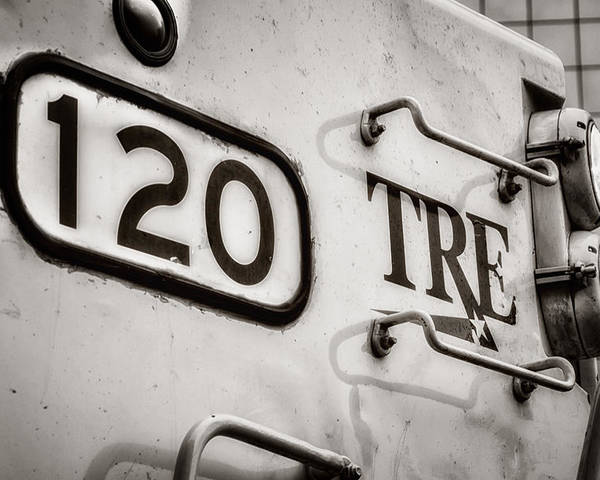 America Poster featuring the photograph Tre 120 by Joan Carroll