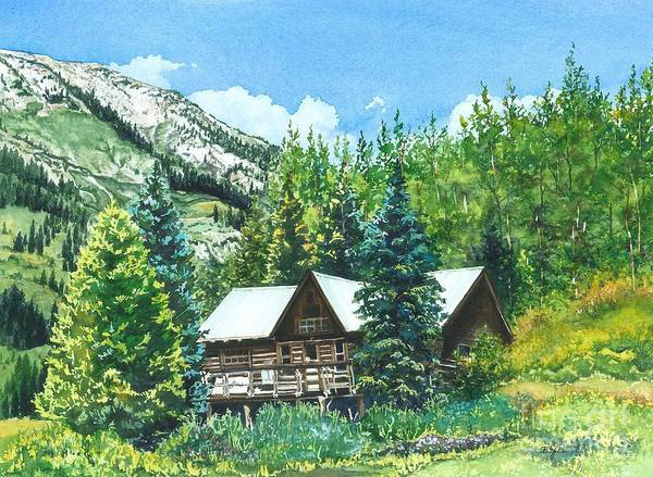 Water Color Paintings Poster featuring the painting Treasured Memories by Barbara Jewell