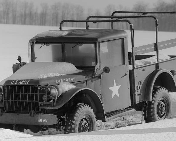Us Army Truck Poster
