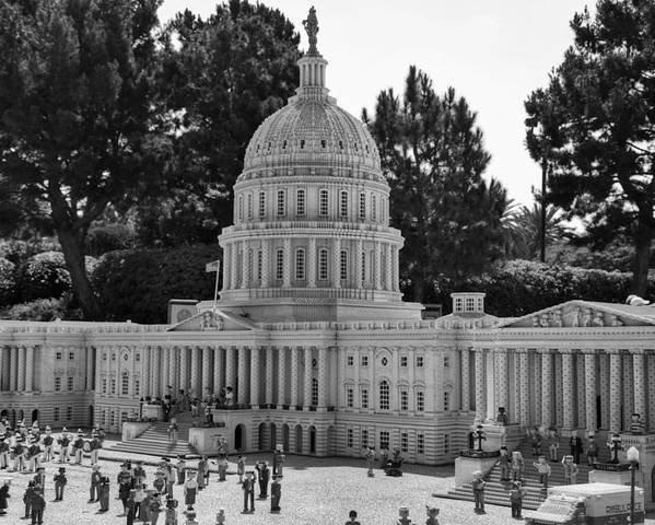United Poster featuring the photograph Us Capitol by Ricky Barnard
