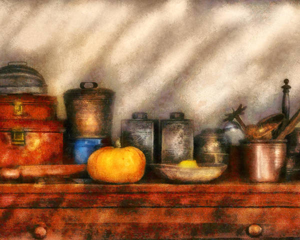 Savad Poster featuring the photograph Utensils - Kitchen Still Life by Mike Savad