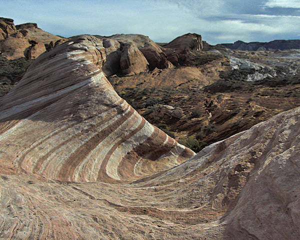 Valley Poster featuring the photograph Valley Of Fire by David Kehrli