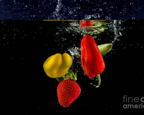 Dice Poster featuring the photograph Vegetable Soup For The Soul by Rene Triay Photography