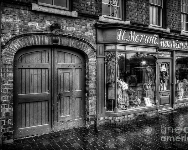 Alley Poster featuring the photograph Victorian Menswear by Adrian Evans