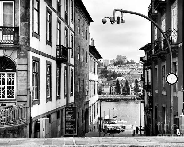 View Across The Douro Poster featuring the photograph View Across The Douro by John Rizzuto