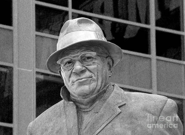 Vince Lombardi Poster featuring the photograph Vince Lombardi by James Hammen