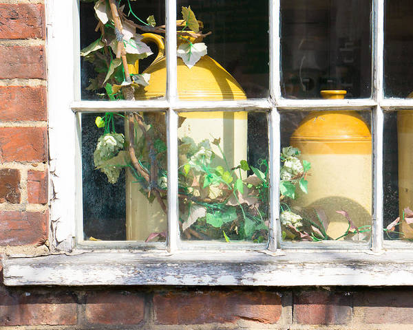 Antique Poster featuring the photograph Vintage Pots by Tom Gowanlock