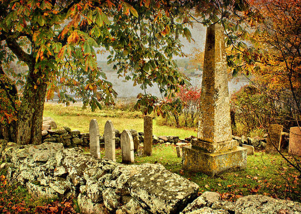 Fall Poster featuring the photograph Visiting History by Nikolyn McDonald