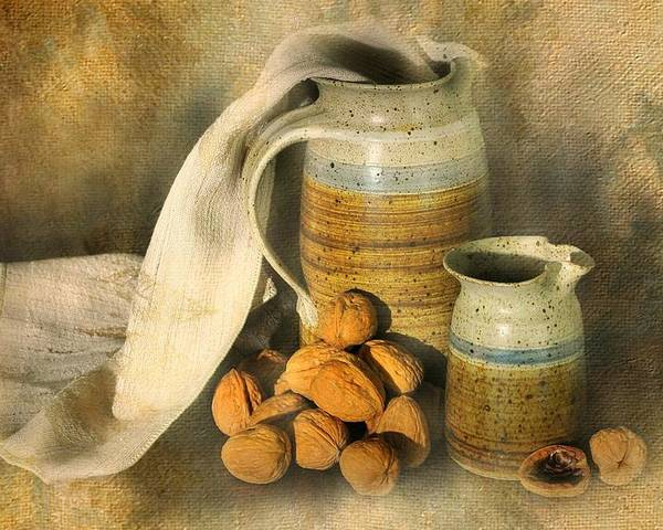 Still Life Poster featuring the photograph Walnut Grove by Diana Angstadt