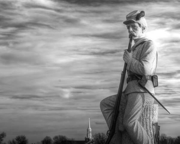 Civil War Poster featuring the photograph War Fighters - 149th Pa Infantry 1st Regiment Bucktail Brigade-a1 Near Mc Pherson Barn Gettysburg by Michael Mazaika