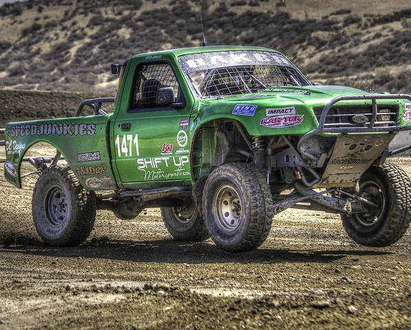 Off Road Poster featuring the photograph Weekend Threat by Chris Sarenana