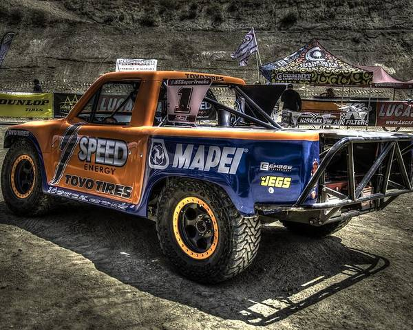 Off Road Poster featuring the photograph Weekend Truck by Chris Sarenana