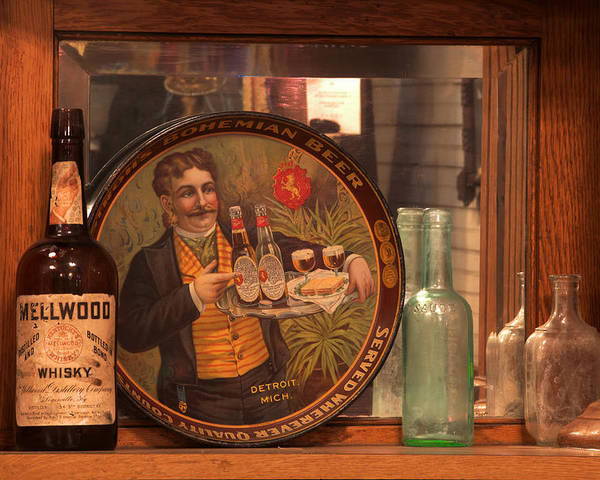 Ghost Town Museum Poster featuring the photograph Wellwood Whisky by Mike Flynn