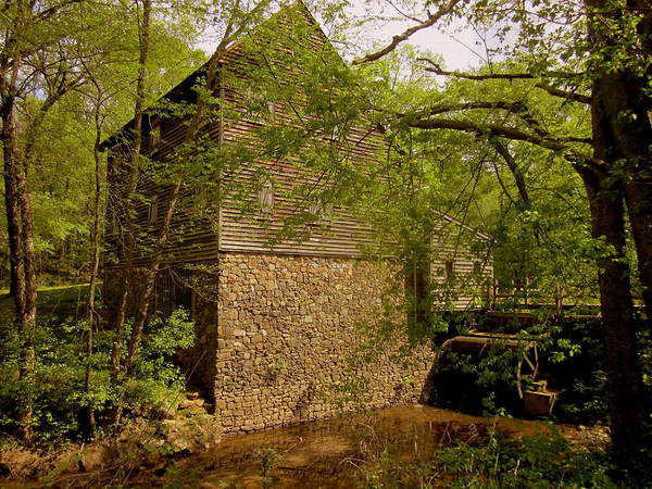 Nature Poster featuring the photograph West Point Mill House II by Peter LaPlaca