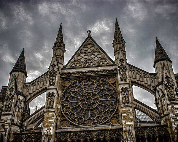 Westminster Poster featuring the photograph Westminster Abbey by Martin Newman