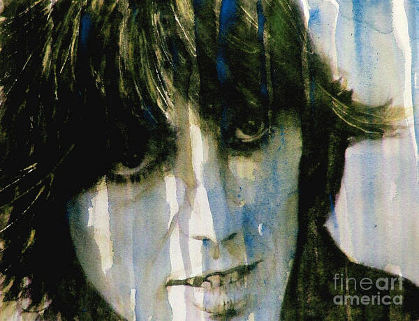 George Harrison Poster featuring the painting What Is Life by Paul Lovering