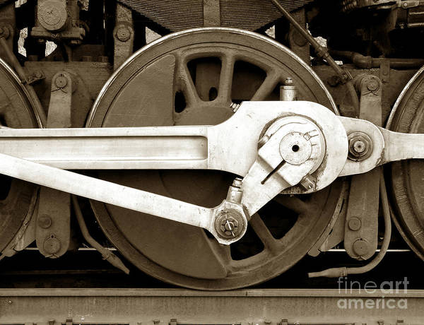 Locomotive Poster featuring the photograph Wheel Power by Olivier Le Queinec