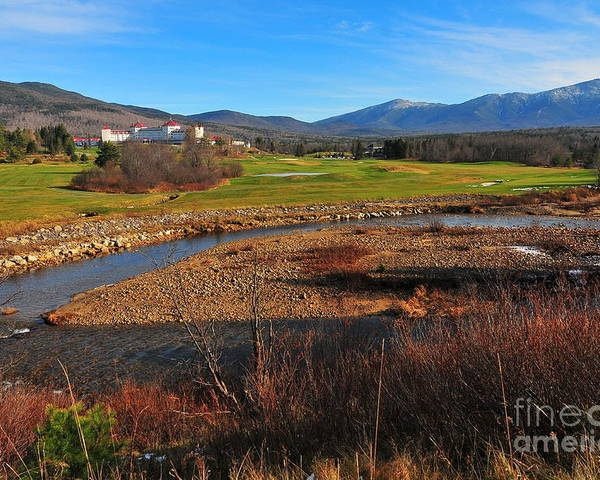 White Mountains Scenic Vista Poster featuring the photograph White Mountains Scenic Vista by Catherine Reusch Daley