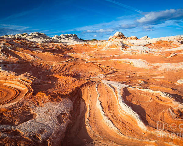 America Poster featuring the photograph Wild Sandstone Landscape by Inge Johnsson