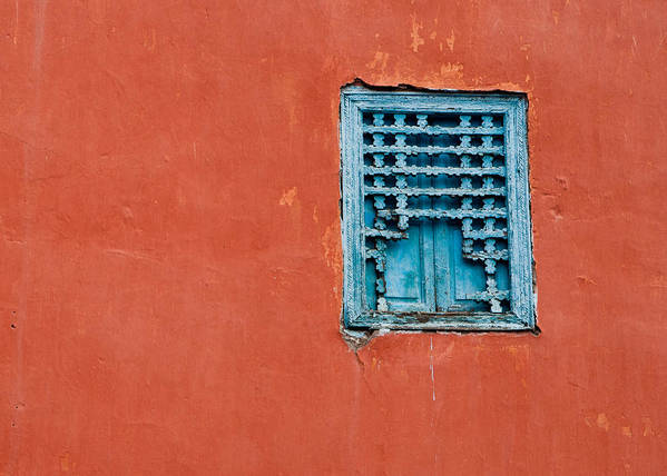 2010 Poster featuring the photograph Window In Marrakesh by Daniel Kocian