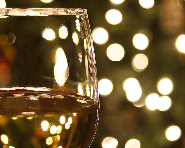 Wine Poster featuring the photograph Wine By The Lights by Andrew Soundarajan