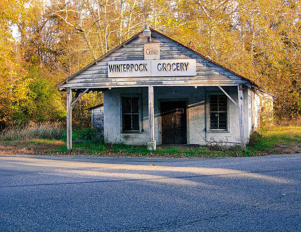 Winterpock Grocery Poster featuring the photograph Winterpock Grocery by Robby Batte