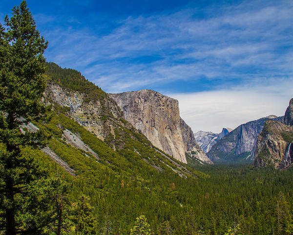Yosemite Poster featuring the photograph Yosemite Valley by Brian Williamson