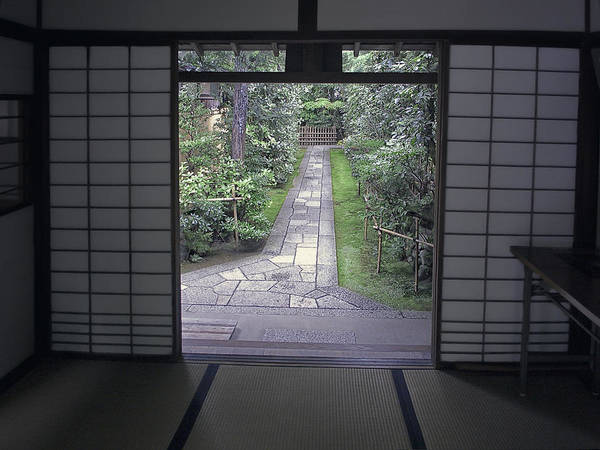 Japan Poster featuring the photograph Zen Tea House Dream by Daniel Hagerman