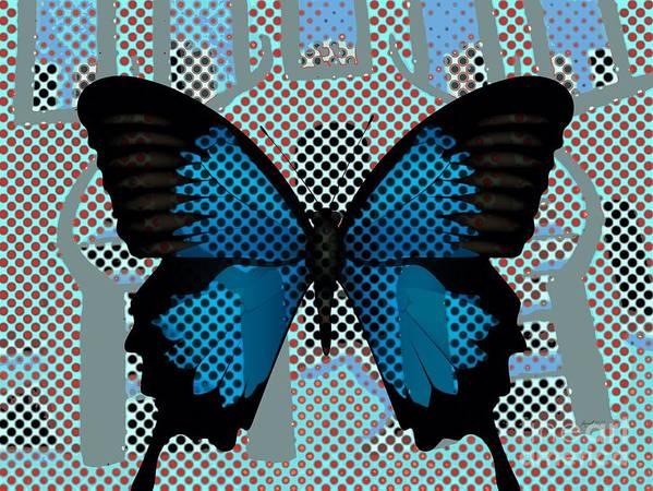 Fania Simon Poster featuring the mixed media Revenant - Returned by Fania Simon