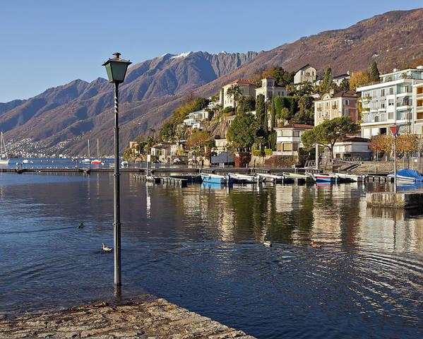 Lago Maggiore Poster featuring the photograph Ascona - Lake Maggiore by Joana Kruse