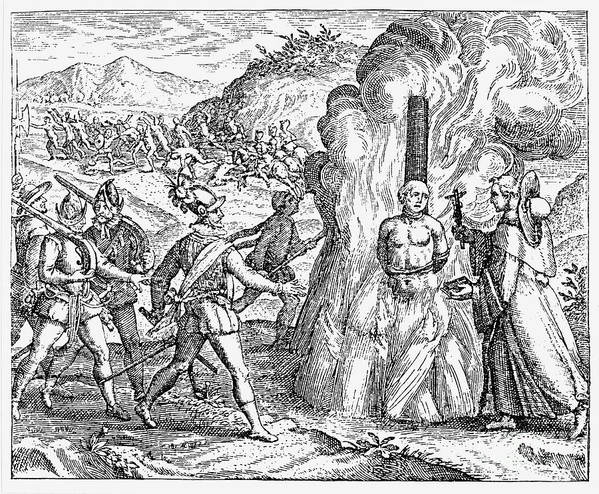 16th Century Poster featuring the photograph Bartolome De Las Casas by Granger
