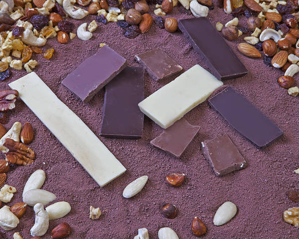 Chocolate Poster featuring the photograph Chocolate by Joana Kruse