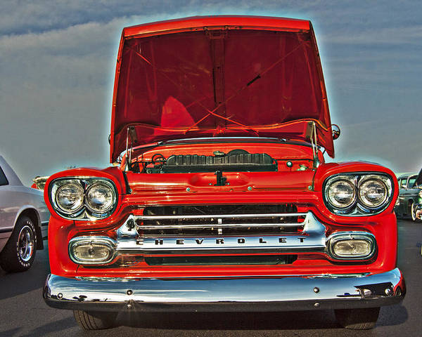 Chevrolet Poster featuring the photograph Classic Chevy by Darleen Stry