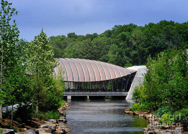 Museum Poster featuring the photograph Crystal Bridges Museum by Nava Thompson