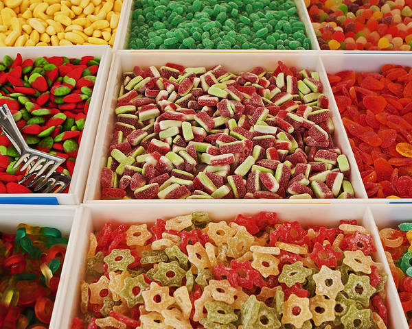 Sweets Poster featuring the photograph Italian Market by Joana Kruse