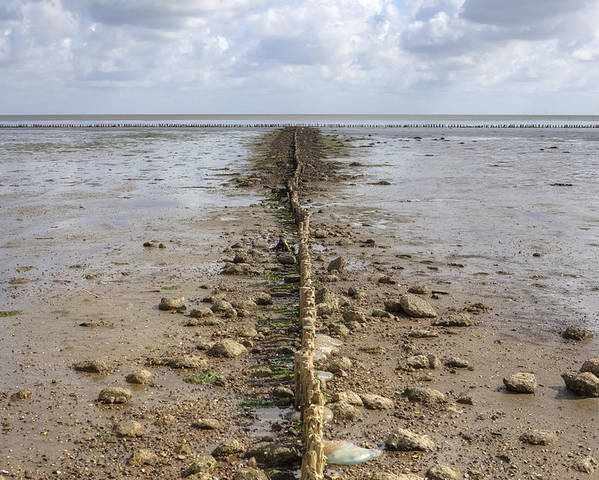 Wadden Sea Poster featuring the photograph Keitum - Sylt by Joana Kruse