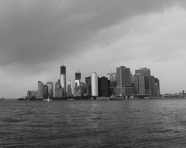 Manhattan Poster featuring the photograph Manhattan by Nina Mirhabibi
