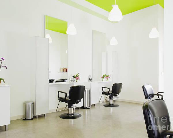 Modern Hair Salon Poster
