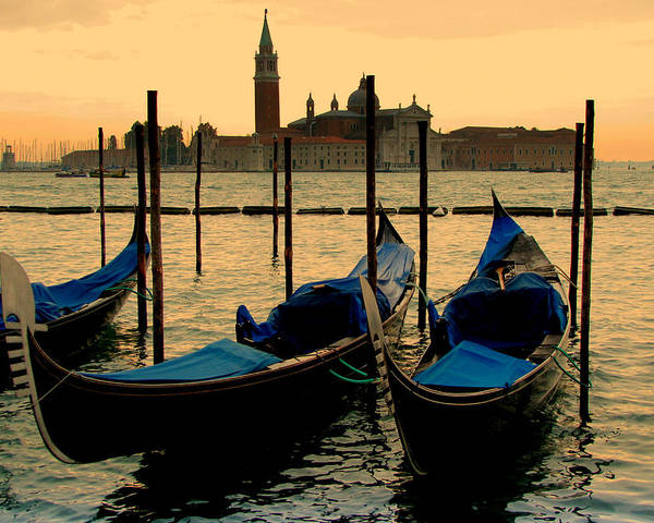 Venice Poster featuring the photograph Morning In Venice by Barbara Walsh