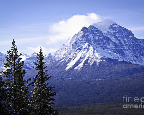 Mountain Poster featuring the photograph Mountain Landscape by Elena Elisseeva