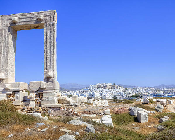 Naxos Poster featuring the photograph Naxos - Cyclades - Greece by Joana Kruse