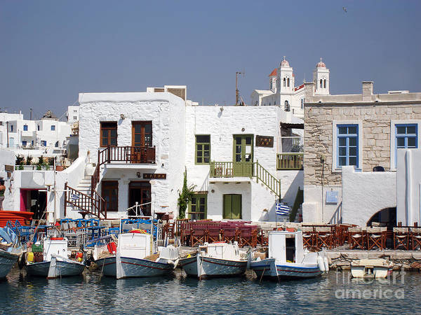 Aegean Poster featuring the photograph Paros by Jane Rix