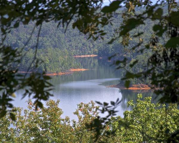 Nature Poster featuring the photograph Peekaboo Lake by Al Cash