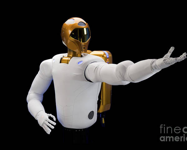 Dexterous Poster featuring the photograph Robonaut 2, A Dexterous, Humanoid by Stocktrek Images