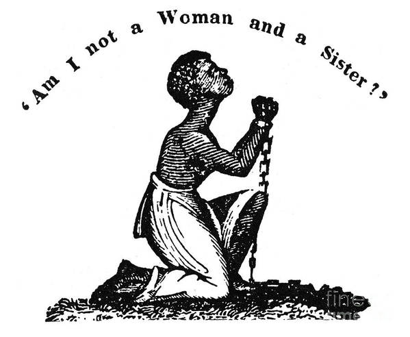 1832 Poster featuring the photograph Slavery: Woman, 1832 by Granger